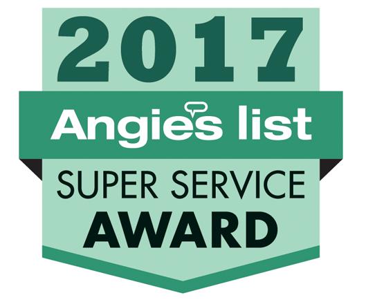 Angie's List 2017 award
