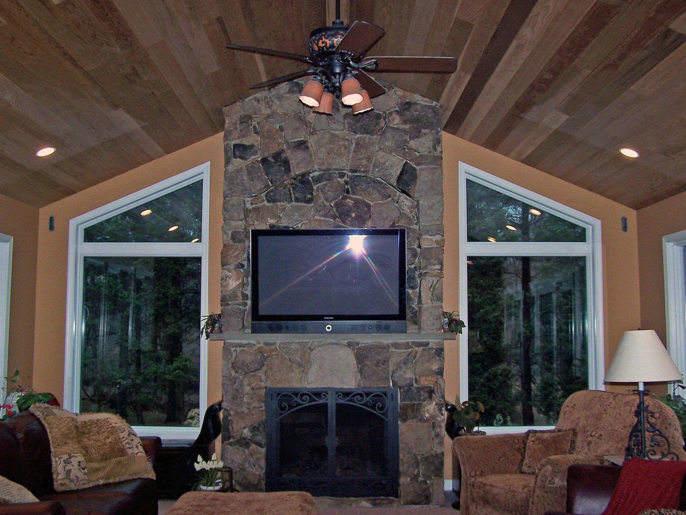 Sunroom home addition vienna remodel