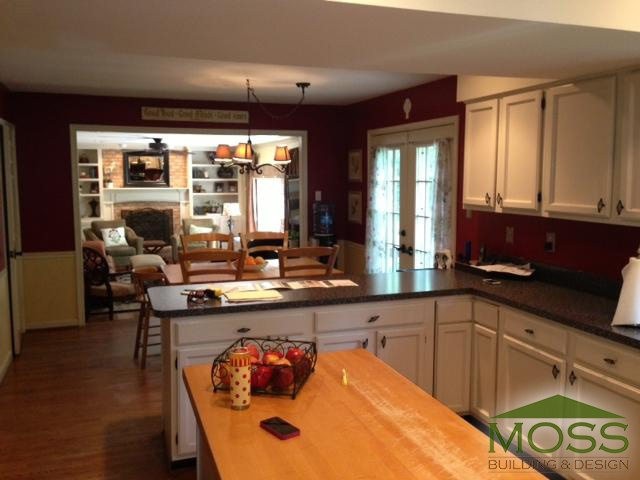 Before After A Stunning Oakton Kitchen Remodel