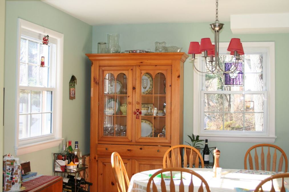 Photo Before and After Allen Dining Room_before