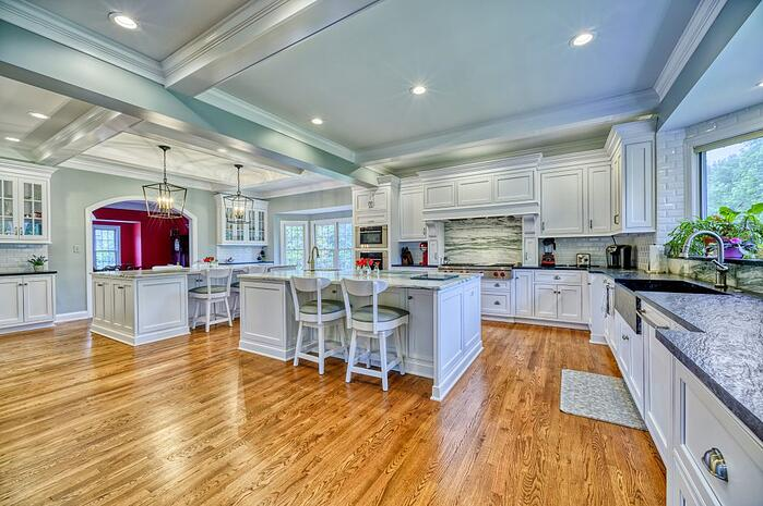 gourmet kitchen remodel