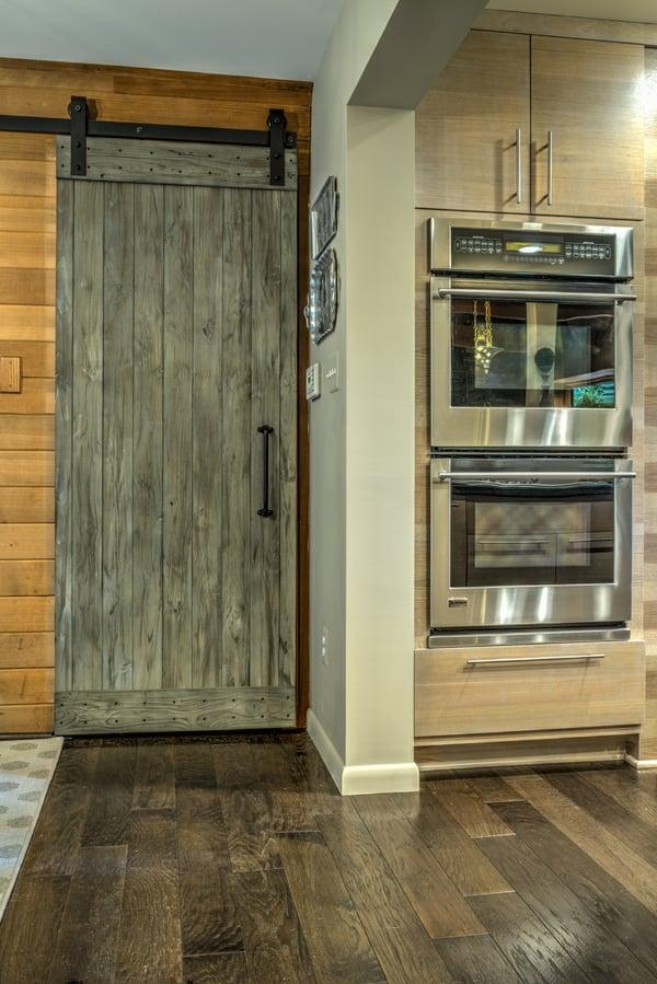 Barn Door in Kitchen_Ashburn