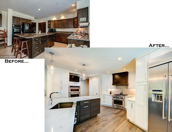 Hawkins Kitchen Before and After