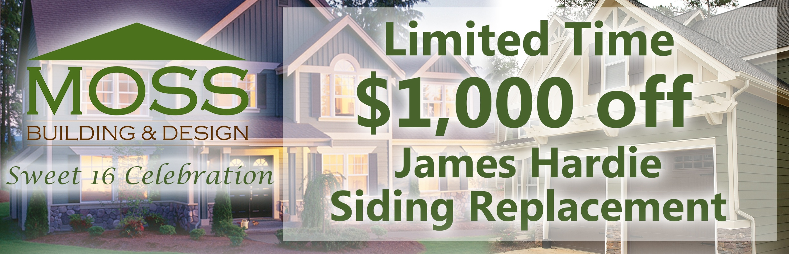 Money off James Hardie Siding