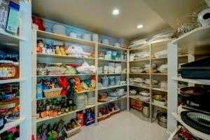 Pantry Storage Addition
