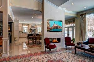 Kitchen Addition Fireplace