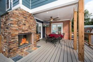 Outdoor Deck Arlington