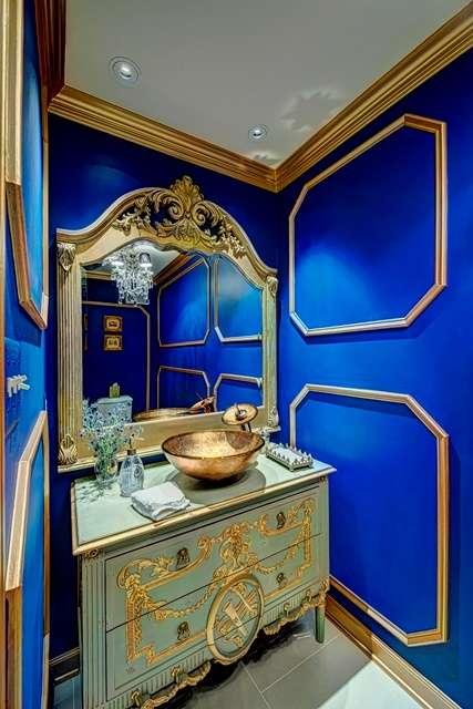 bold bathroom paint