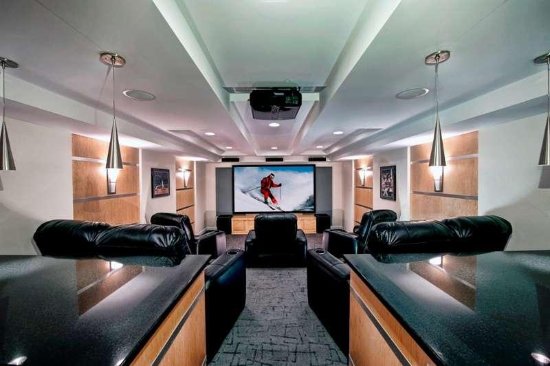 Northern VA media room