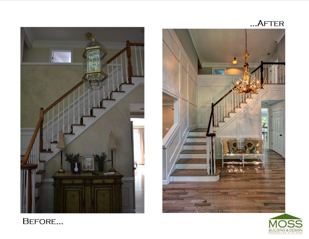 Hall Before and after-foyer