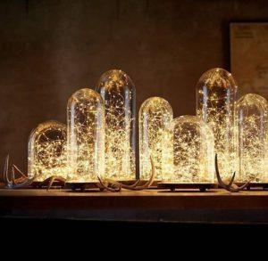 String Lights Inside Decor