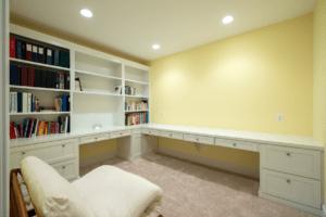 Basement Remodel Craft Room