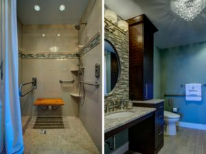 Bathroom Remodel Wheelchair Accessible