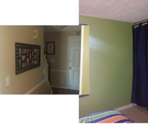Painted Walls Finish
