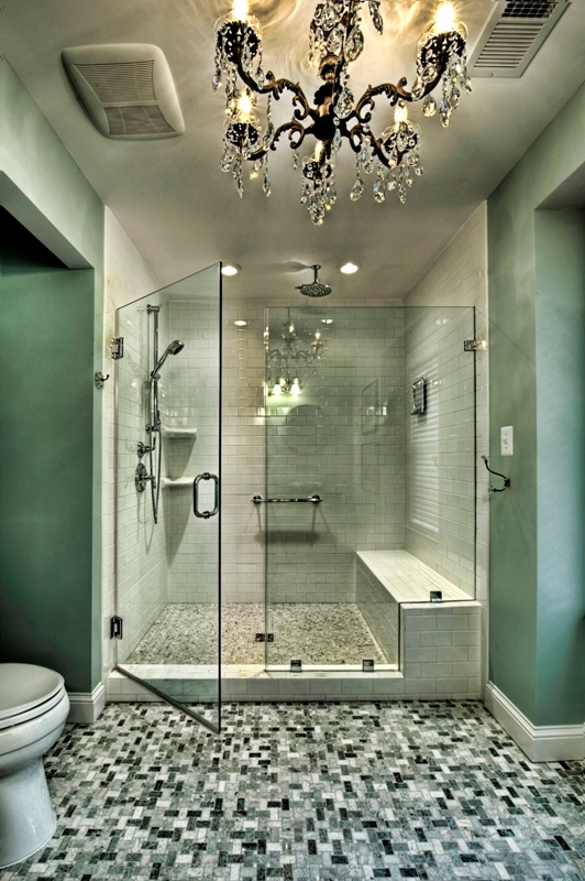 luxurious bathroom remodel