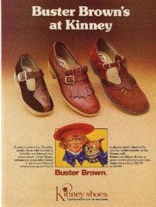 back to school, vintage ads, shoes