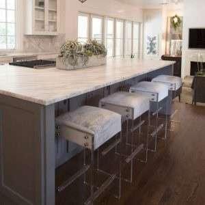 Lucite Furniture in Kitchen