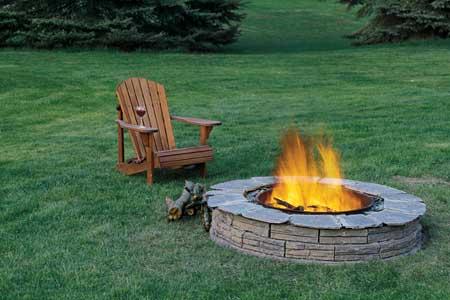 fire pit, fall
