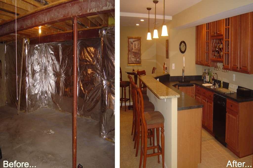 Northern VA basement remodel