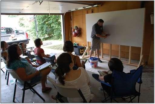Home improvement workshop