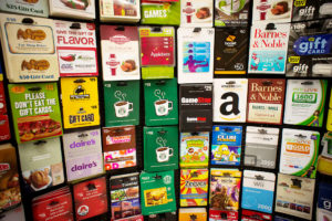 Gift Cards for Holidays