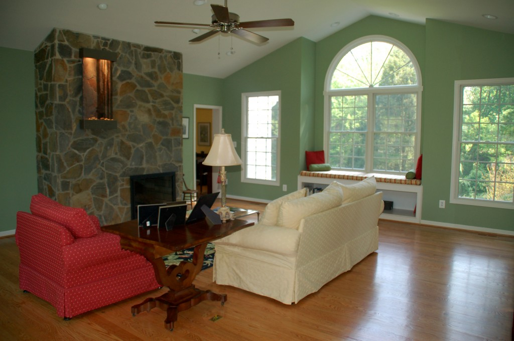 Northern VA two story addition