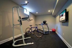 Basement Home Gym