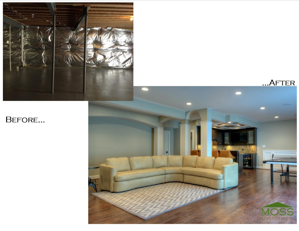 Basement remodeling Oakton, VA
