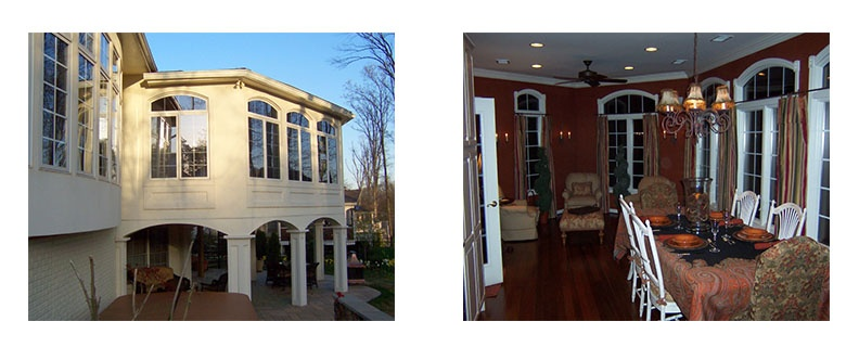 Sunroom addition in Chantilly, VA