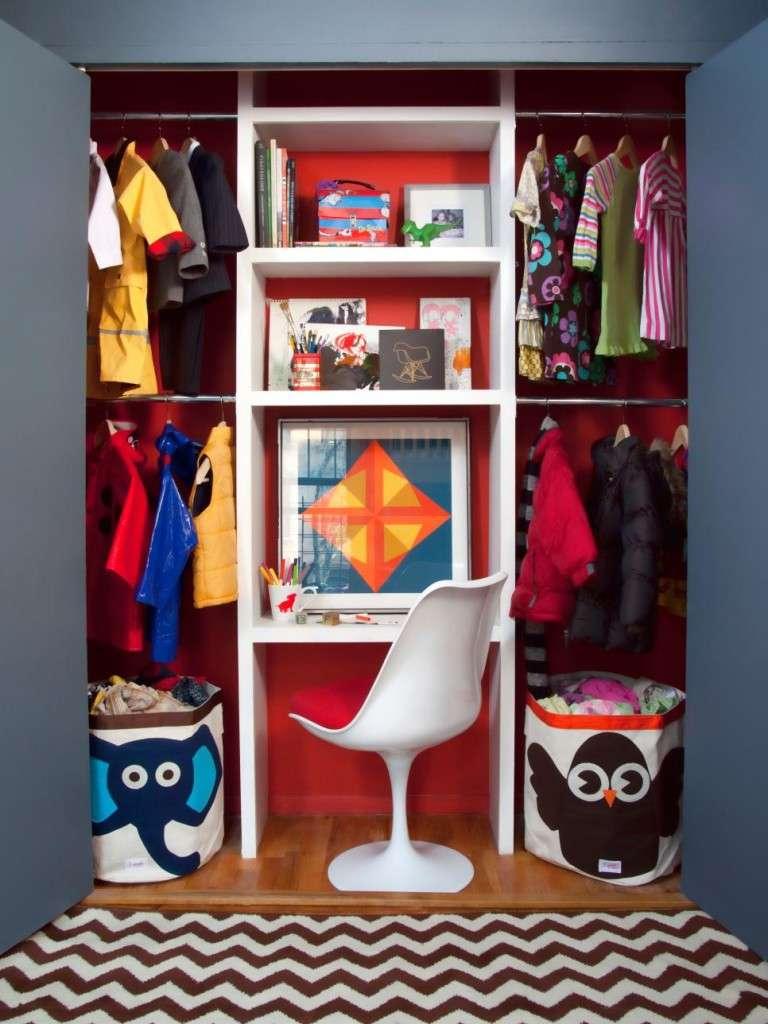 HGTV kids closet