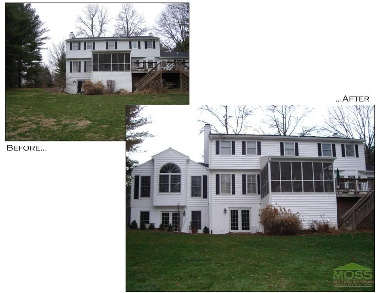 two story addition Oakton, VA
