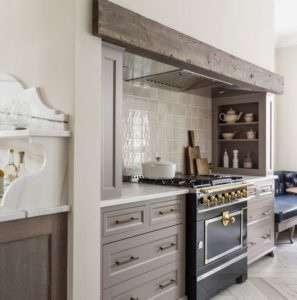 Kitchen black stainless steel