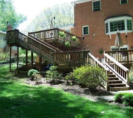 Porch & Deck Renovation, Annandale, VA