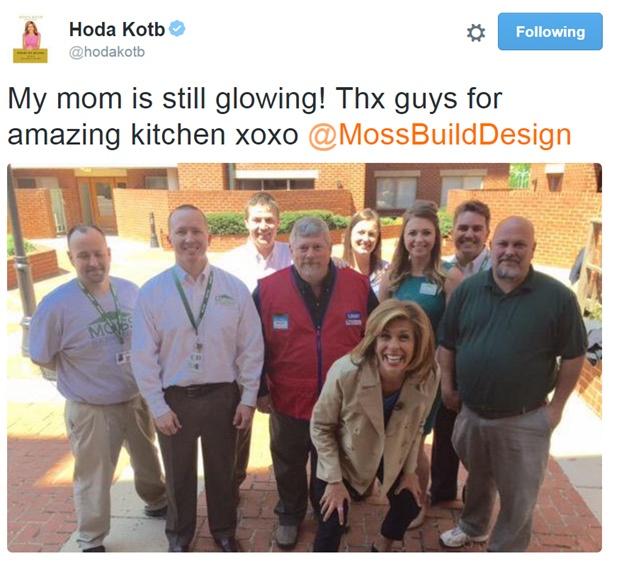 Hoda Kotb and MOSS
