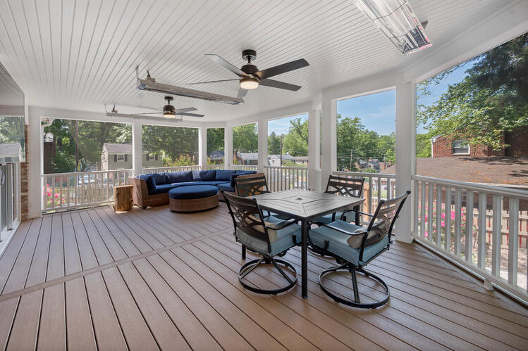 Porch Fans and Heaters