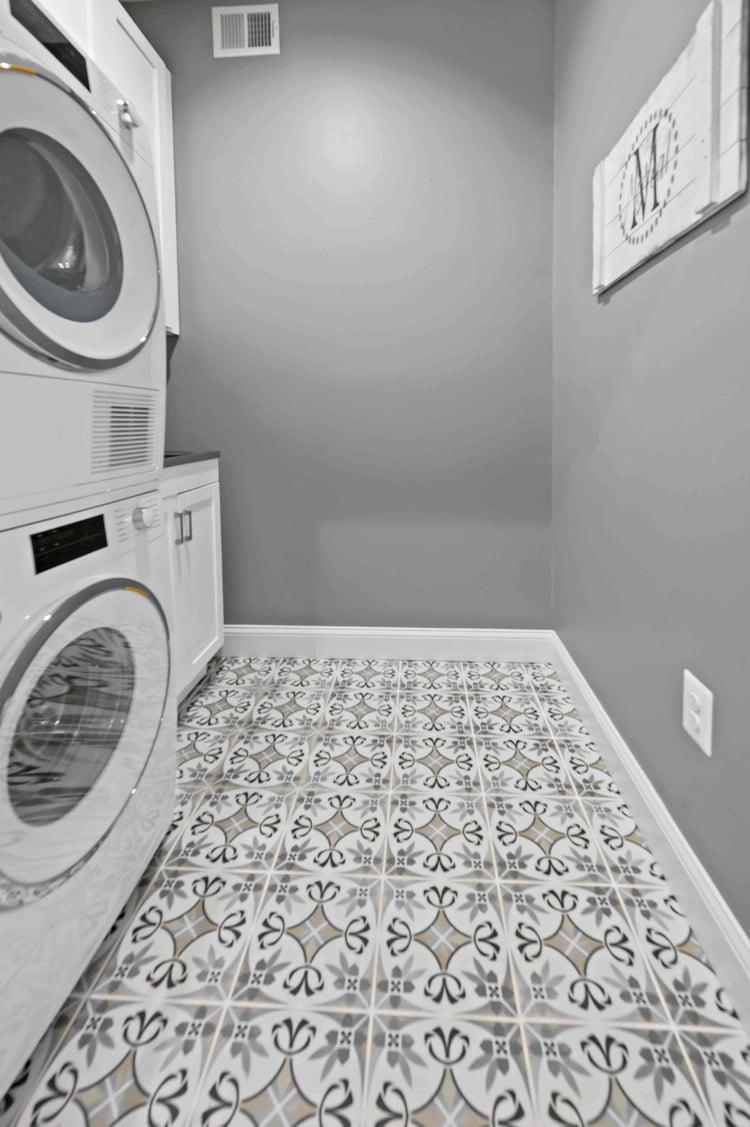 Laundry Room Design Flooring