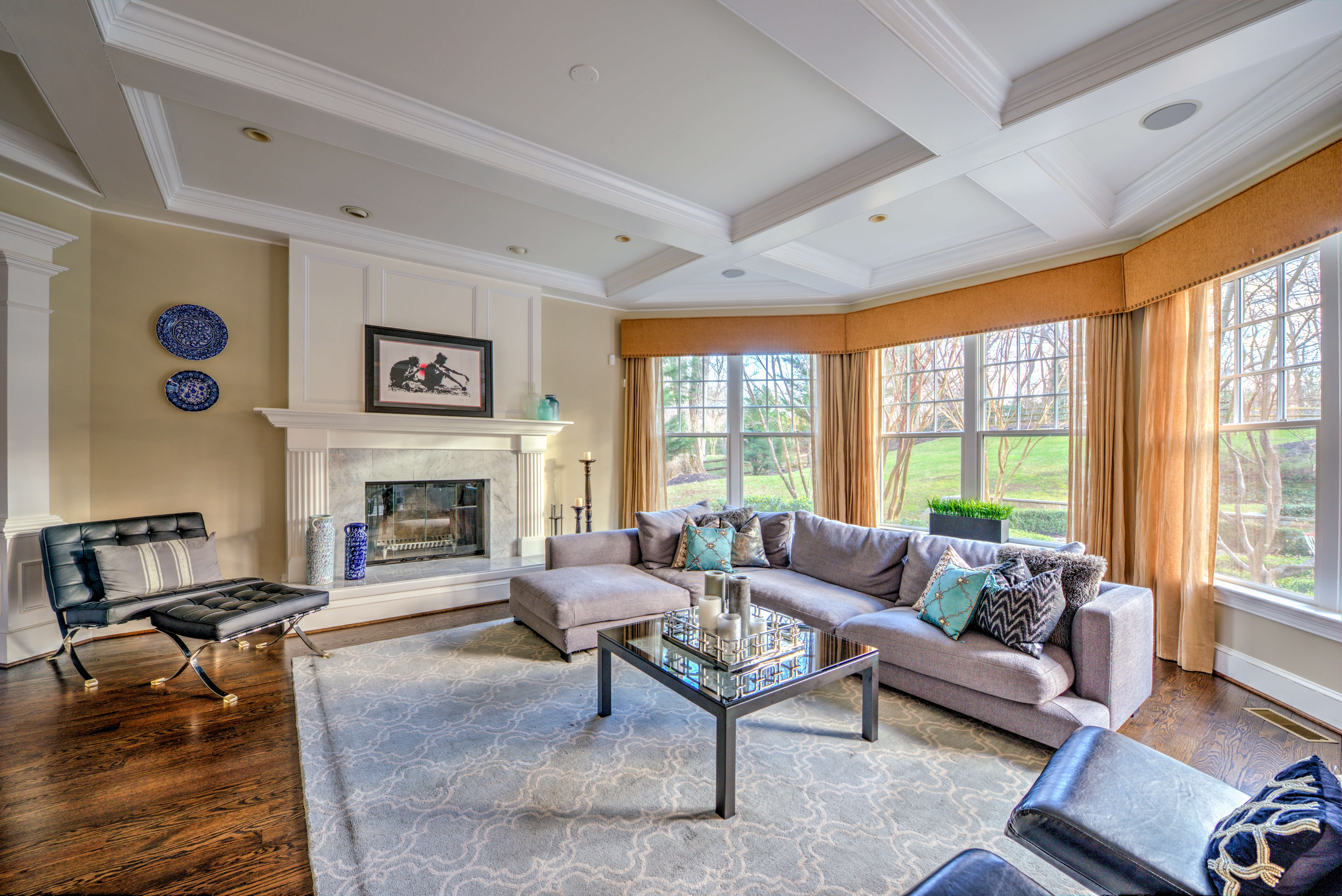 Transitional Living Room_Enayetullah McLean
