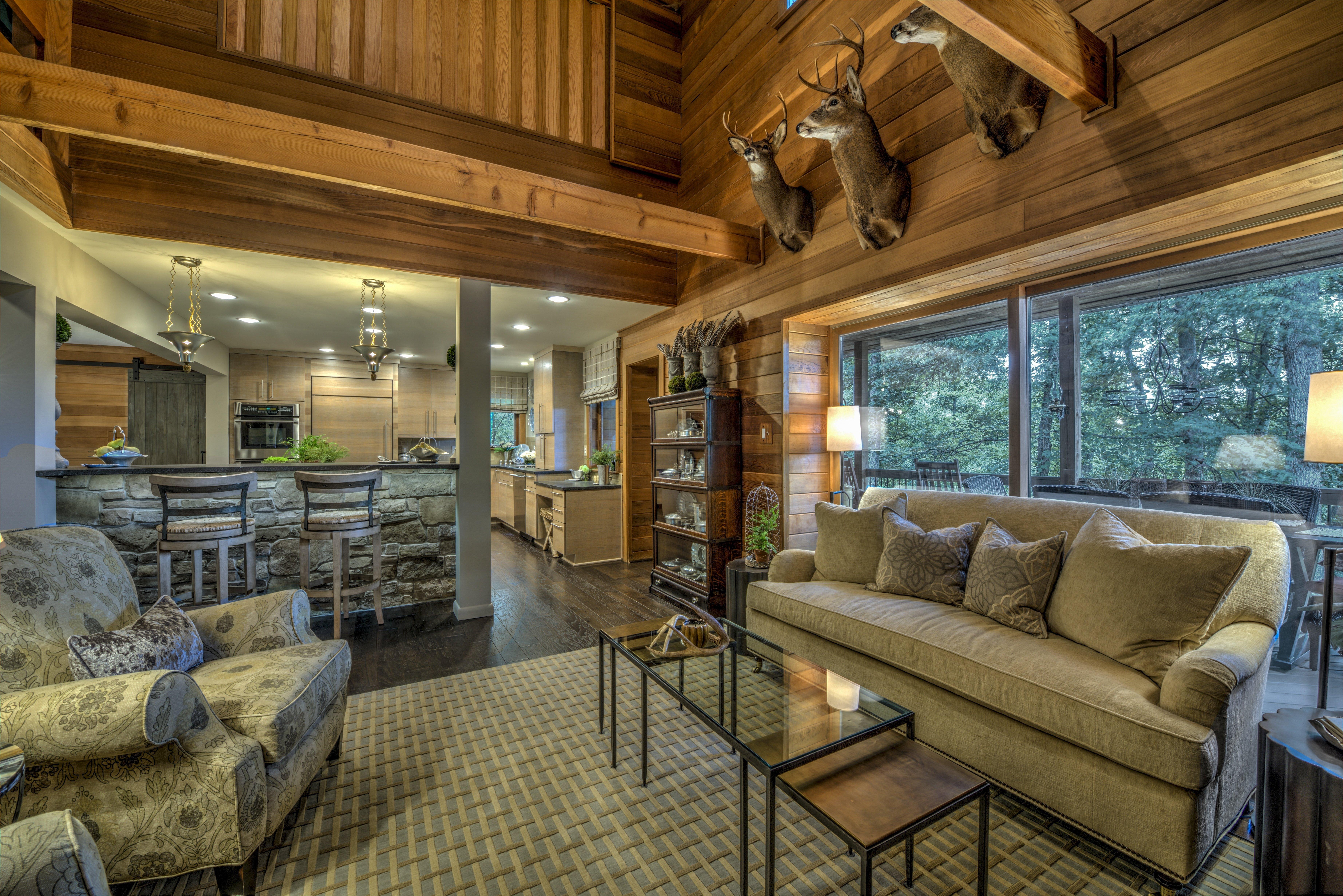 What Is Farmhouse Chic_Ashburn  VA Living Room