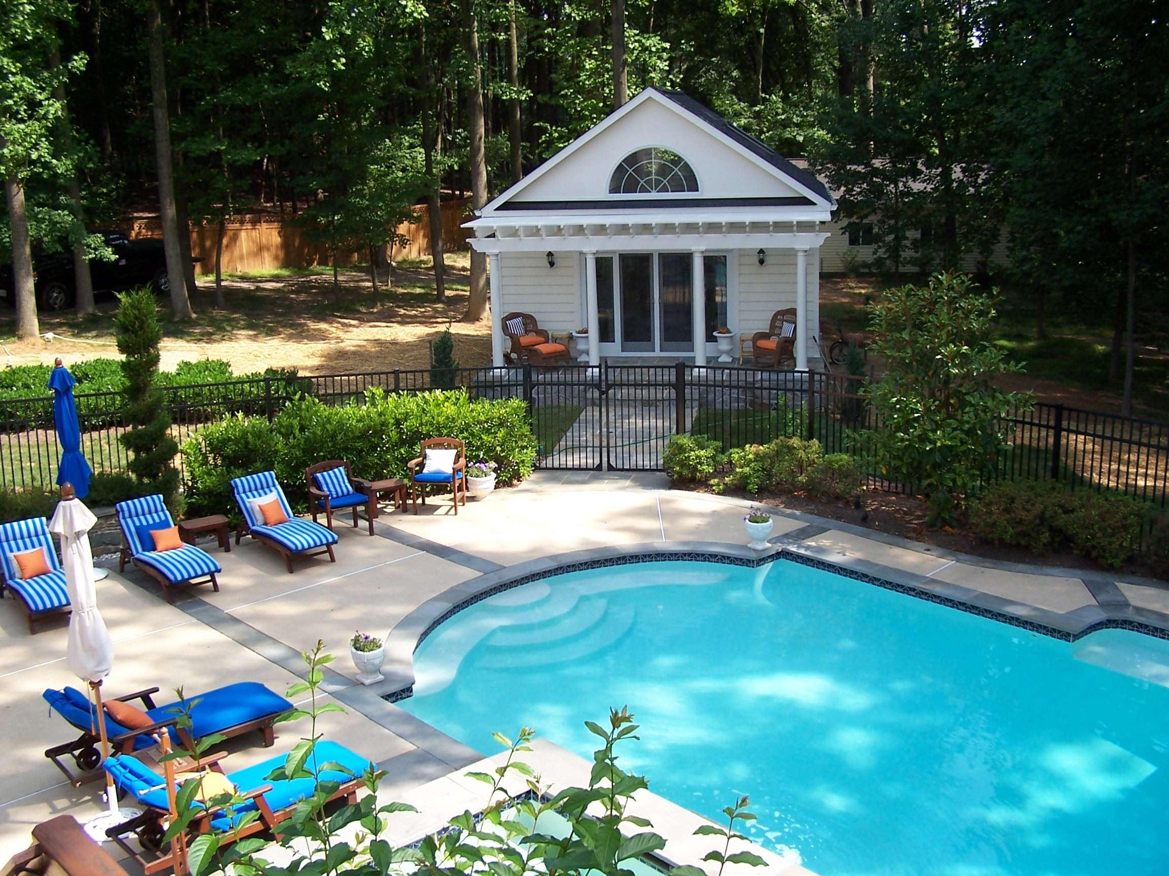Pool house home addition vienna