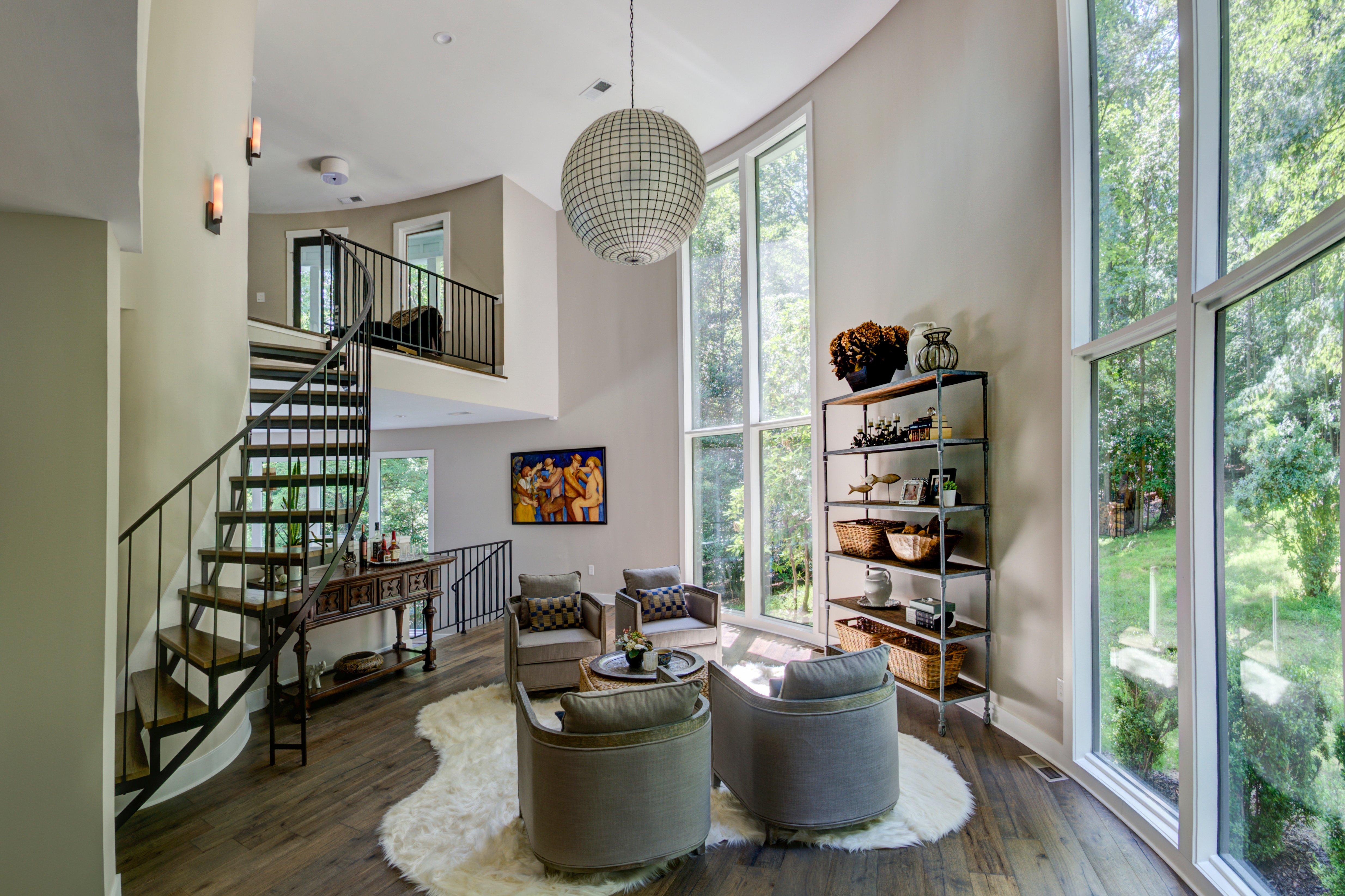 Beautiful Overall Interior Remodel in Unique Oakton Home