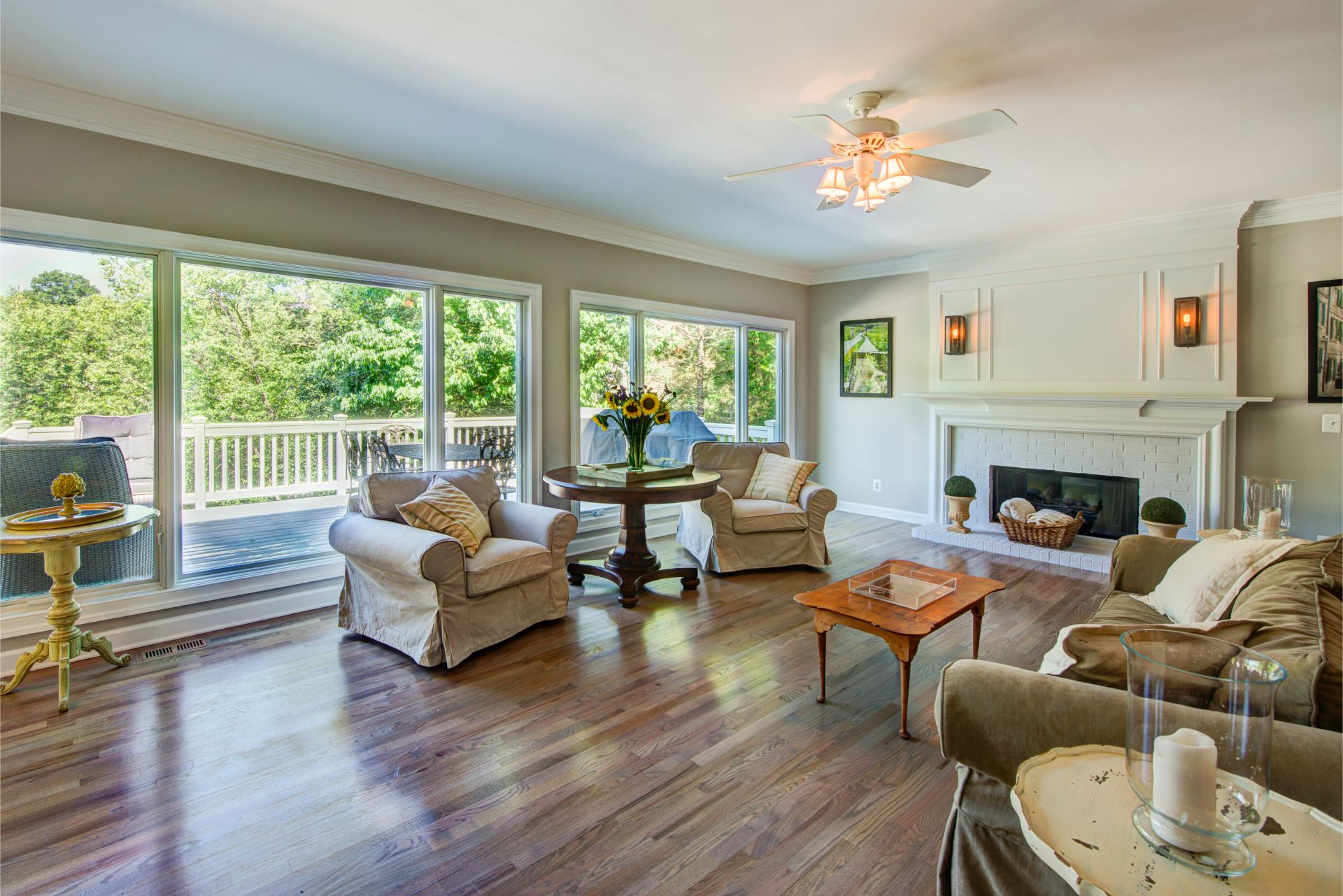 Transitional Style Living Room, Transitional Living Rooms