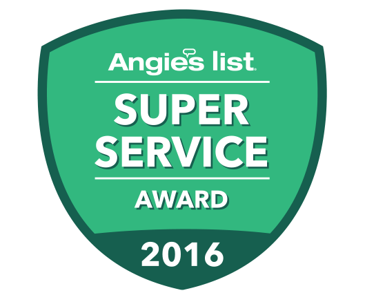 Angie's List Super Service Winner