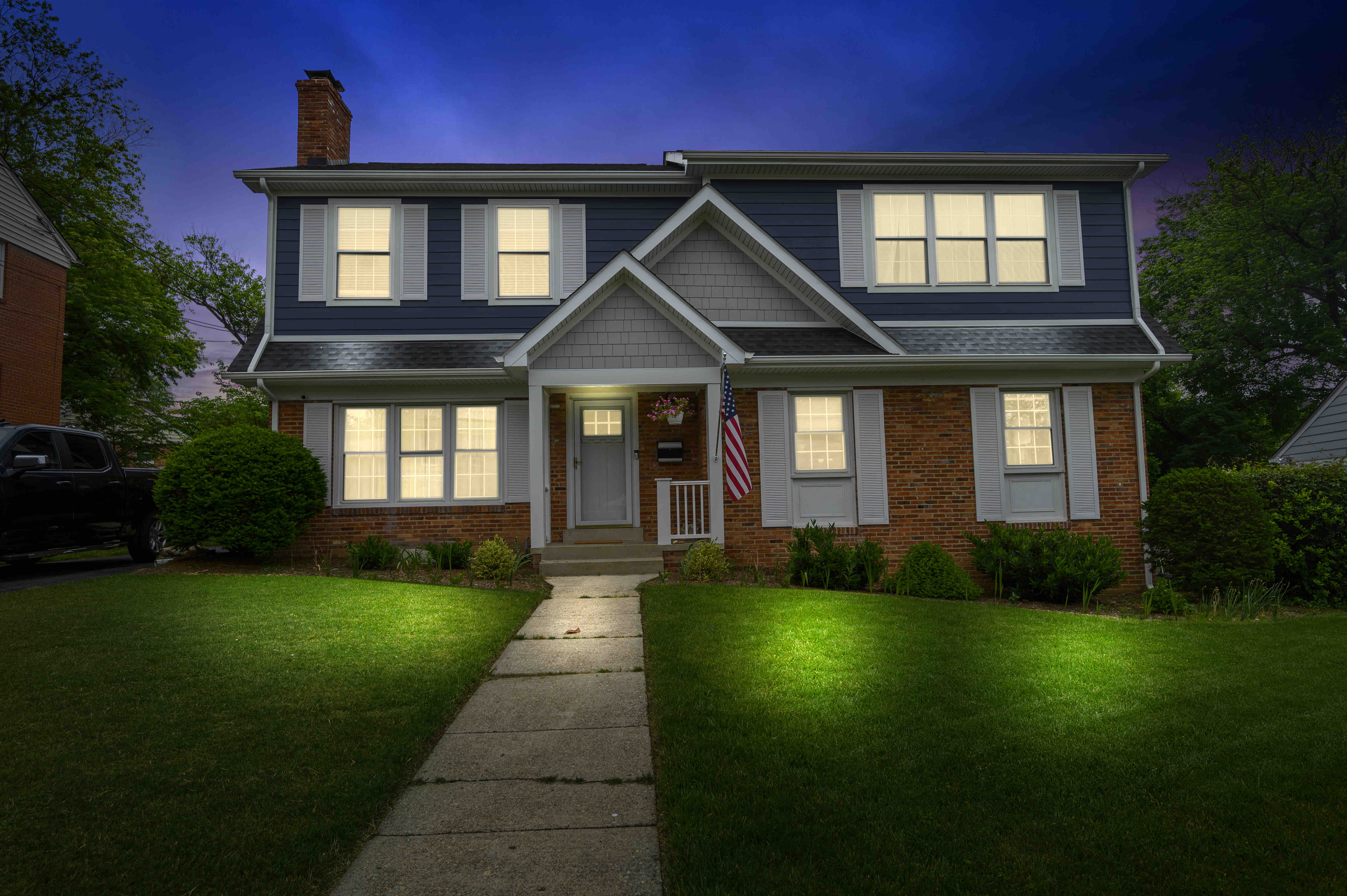 With an entire second floor pop top addition, this Arlington home is now spacious and roomy for this growing family.