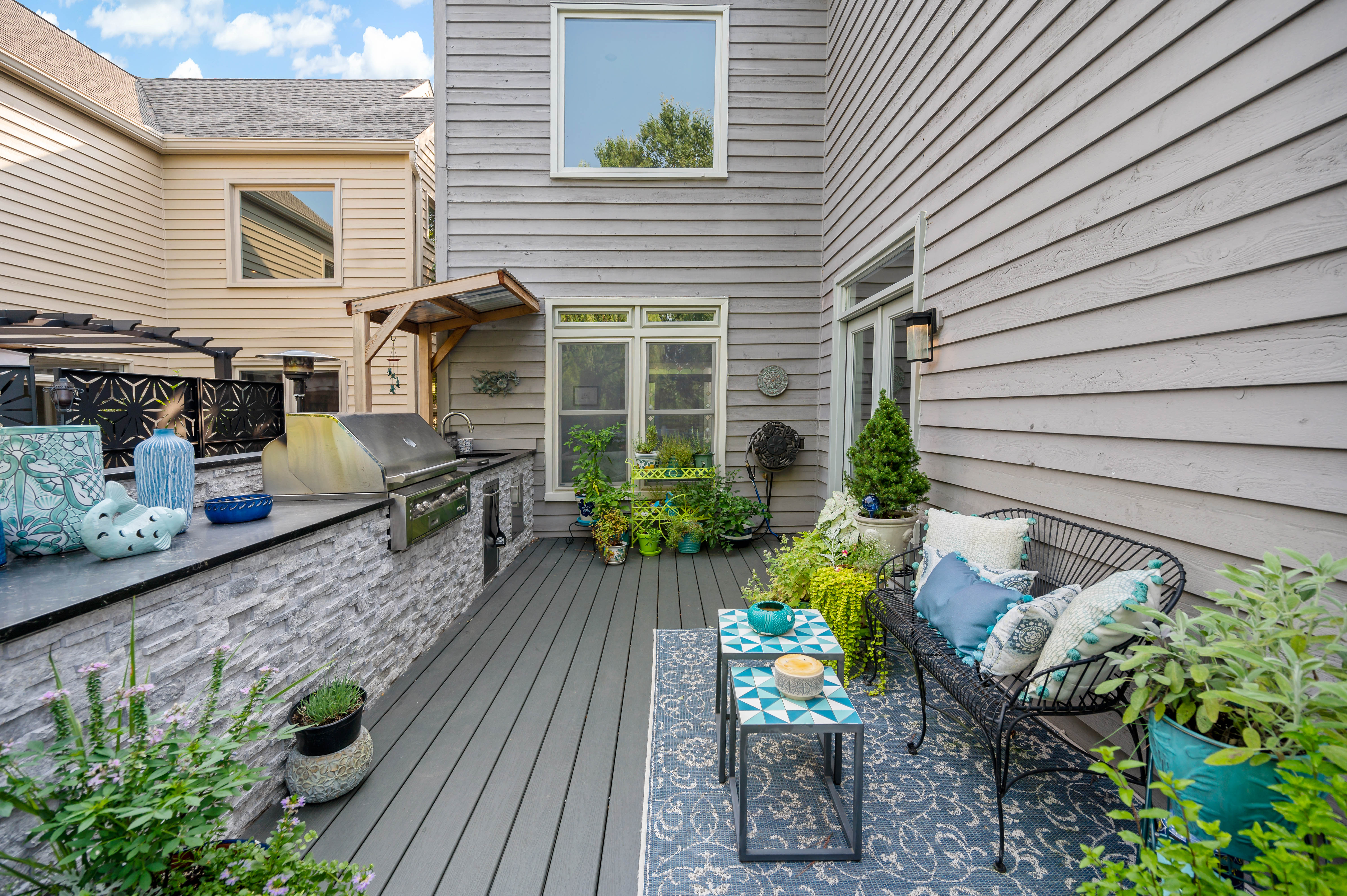 From Postage Stamp Size to Perfection, this Reston Deck Remodel Is A Stunner