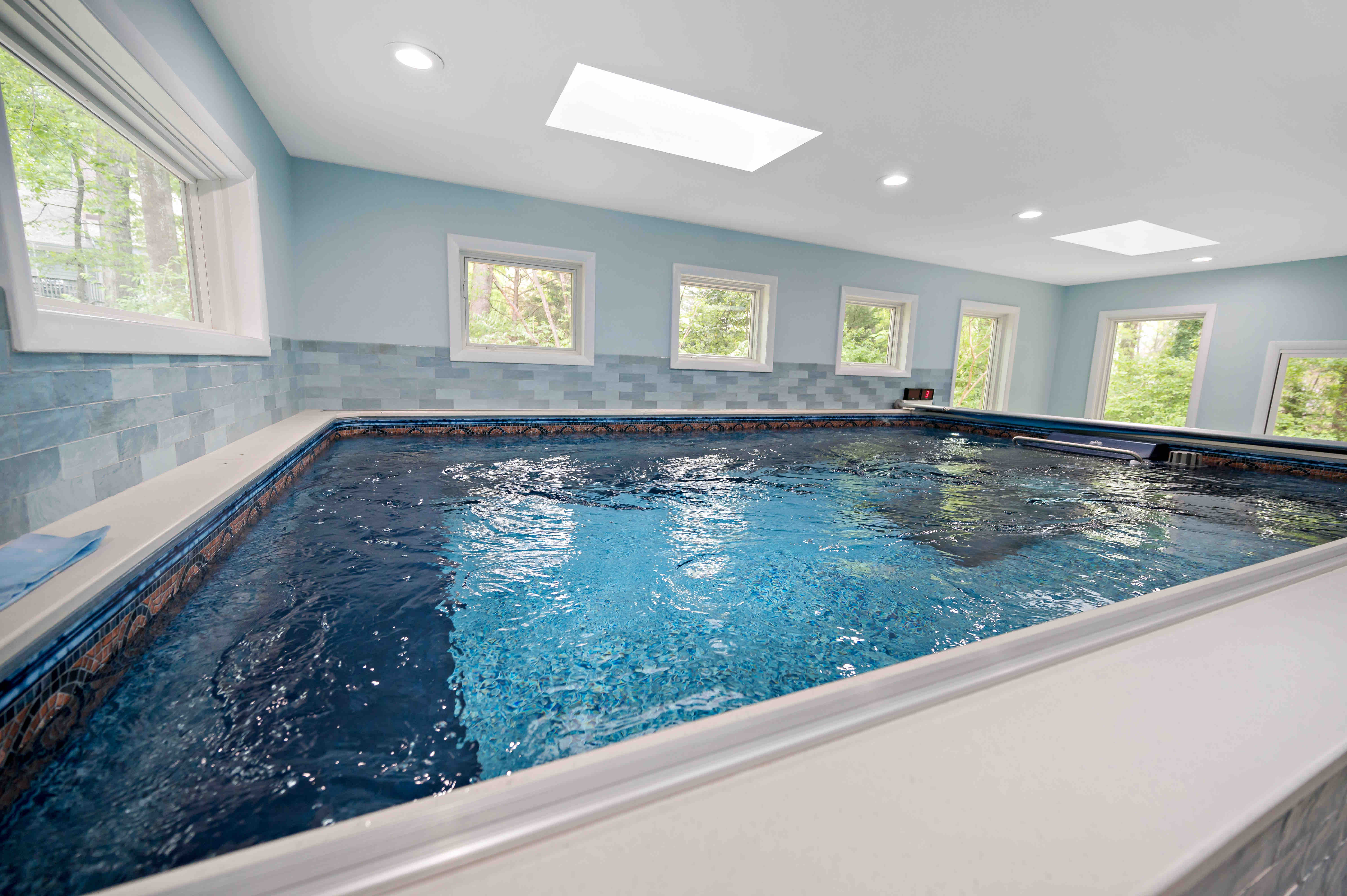 Beautiful Addition for Indoor Pool in Oakton