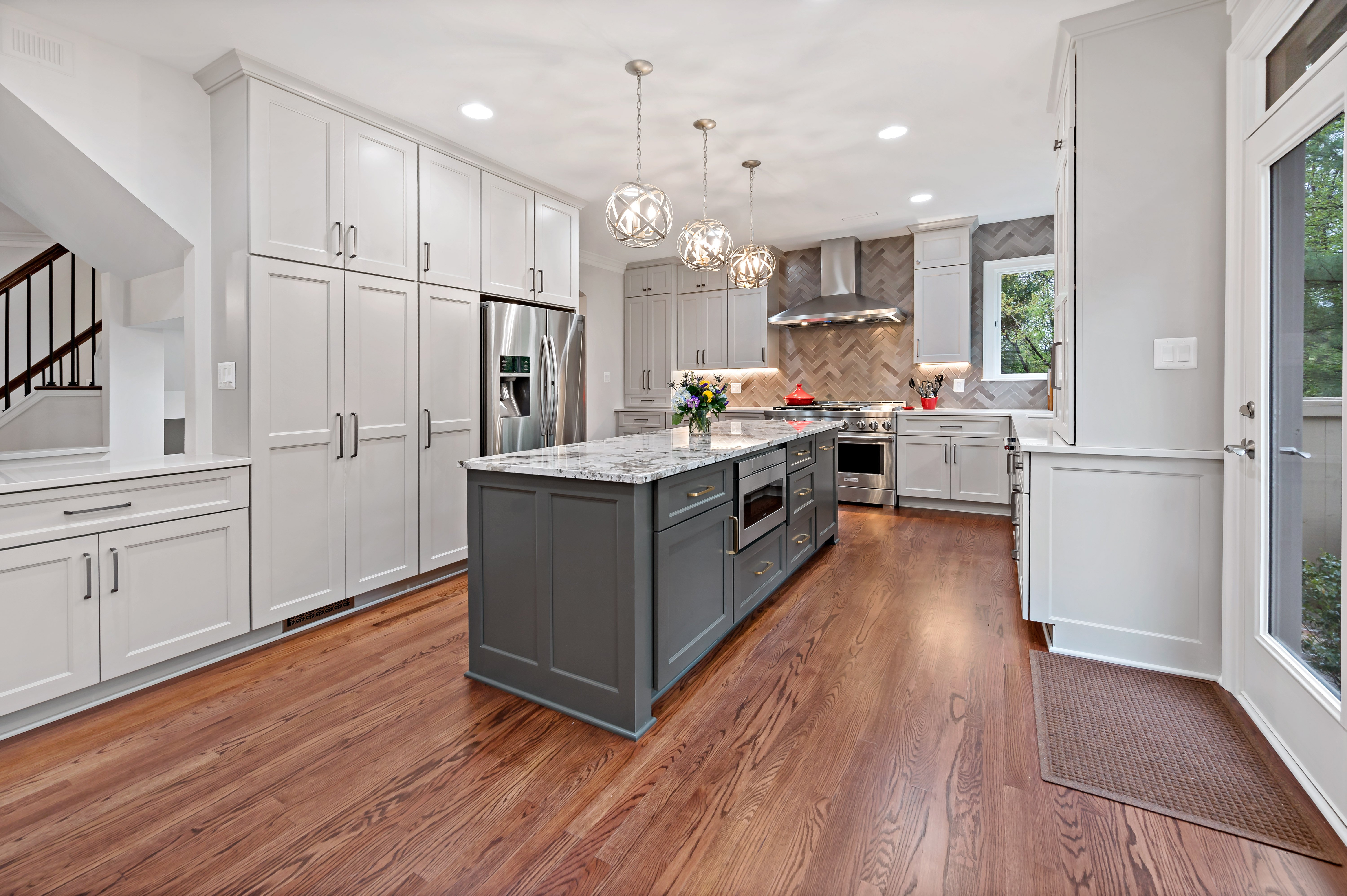 From Traditional to Contemporary, A Beautiful Reston Interior Remodel Shines