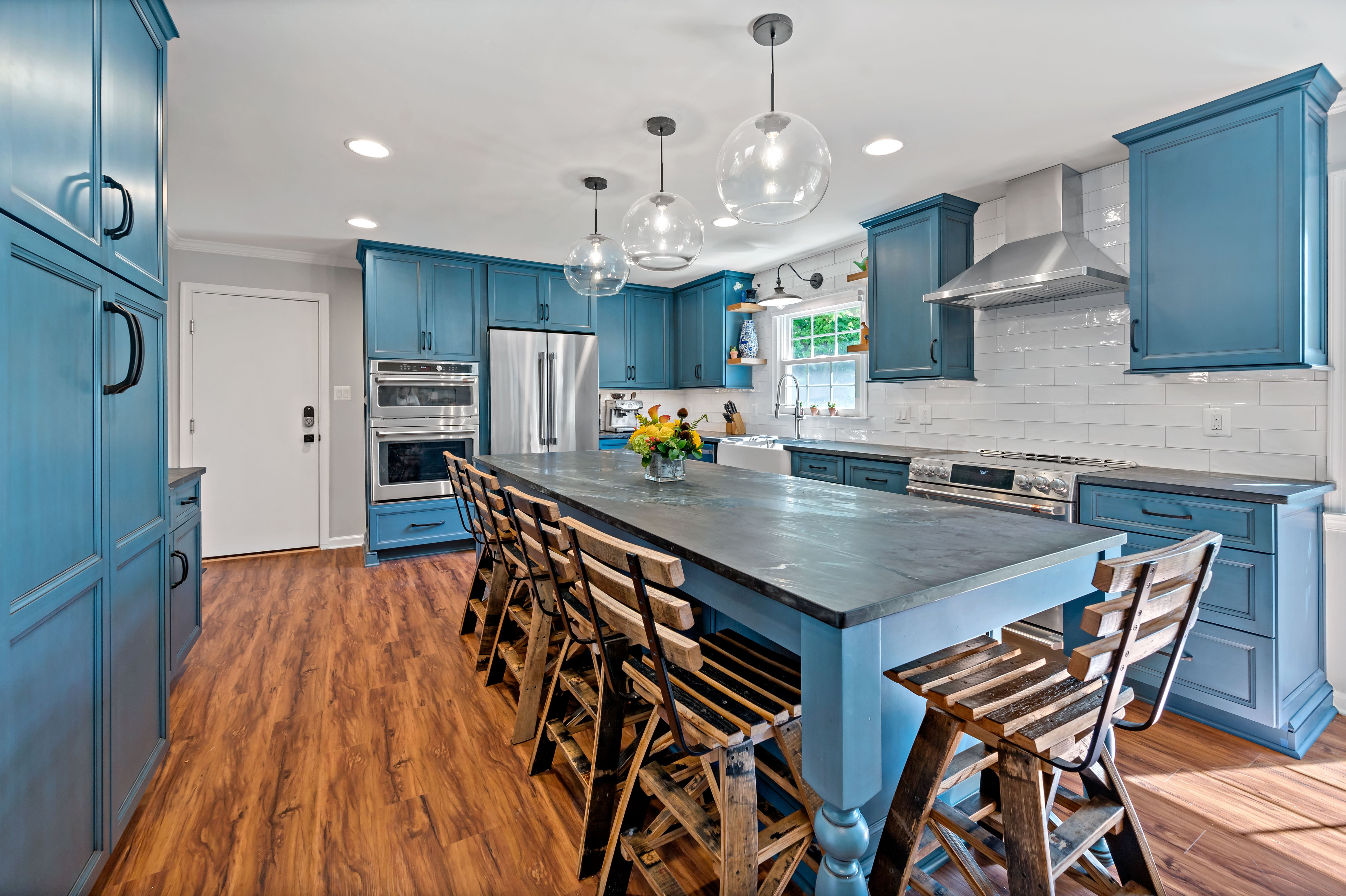 Beautiful Herndon Kitchen Remodel Inspired by Travels to Williamsburg