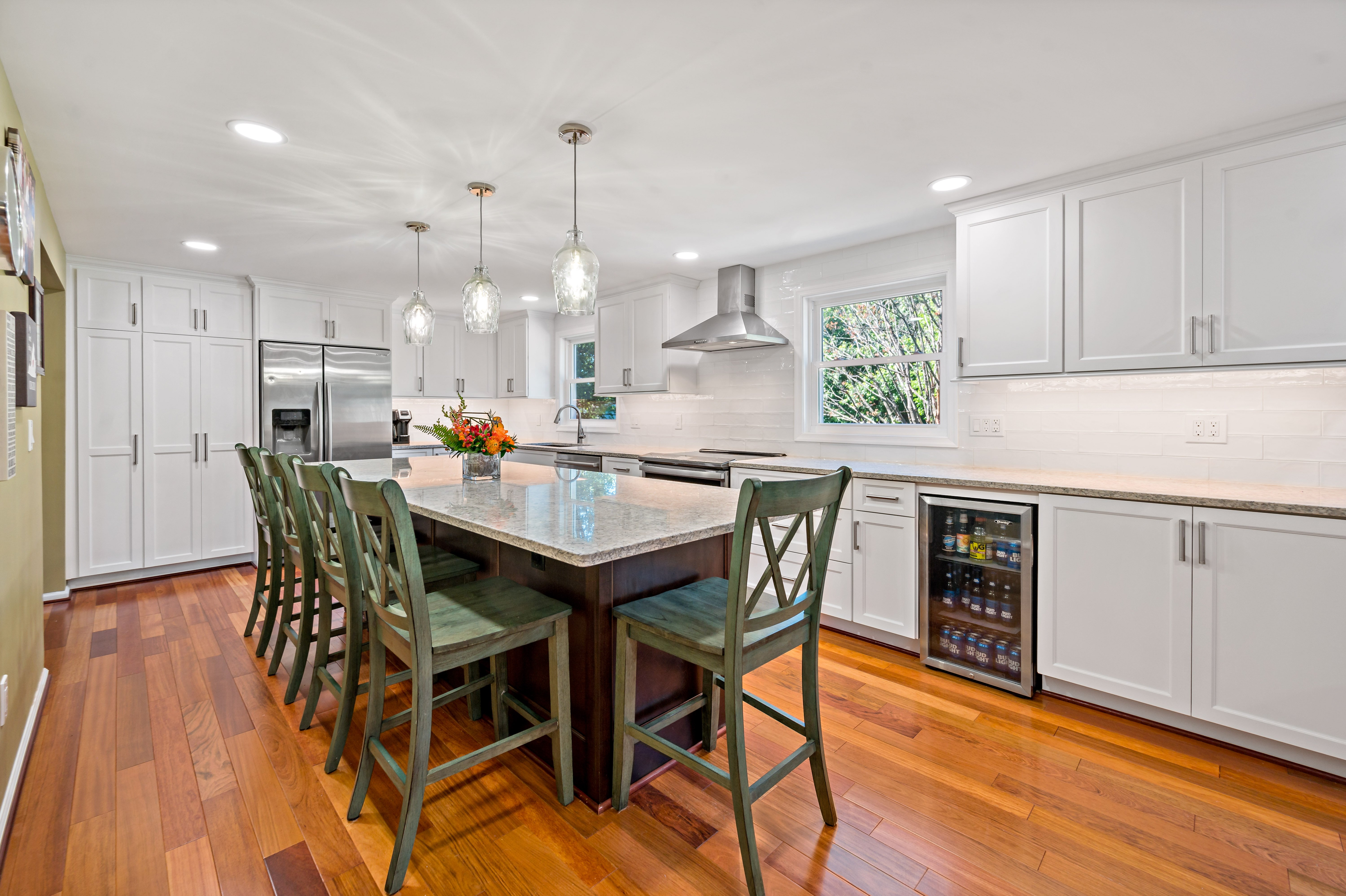 Better Use of Space Makes For A Beautiful Herndon Kitchen Remodel